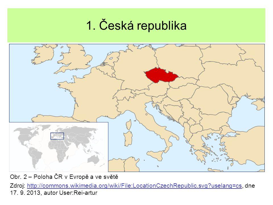 1.Česká republika Každý stát má své symboly.