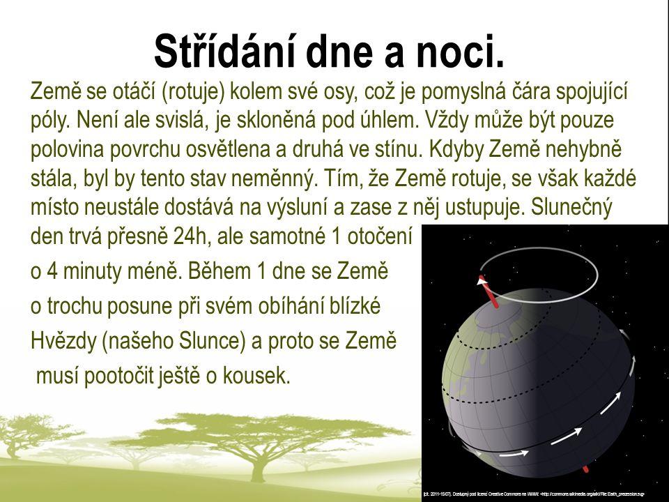 Roční období Roční období neprobíhají na různých místech planety stejně jako v ČR.