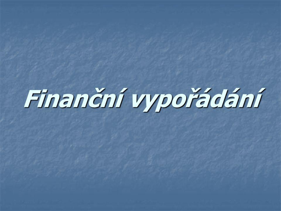 Finanční vypořádání