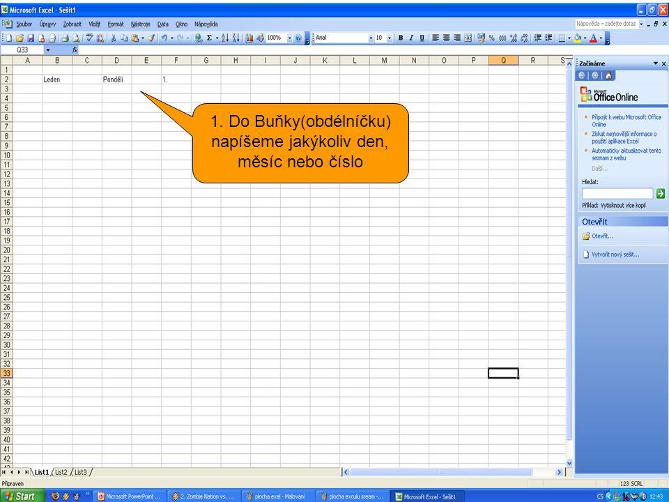 Gratuluji Vám úspěšně jste otevřeli program Excel.