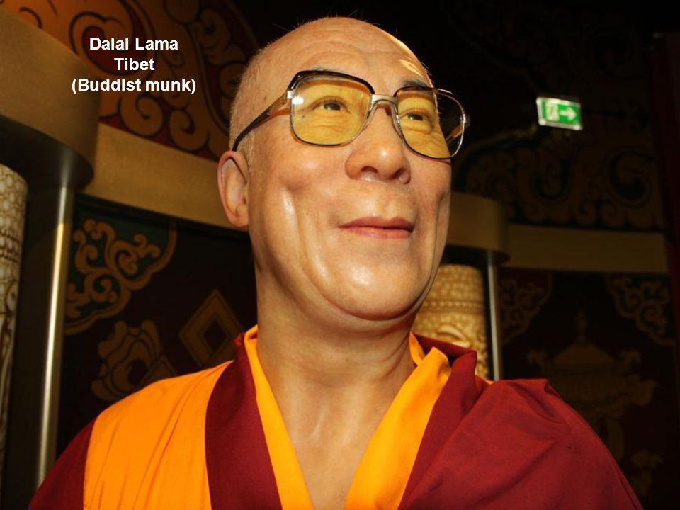 Dalai Lama Tibet (Buddist munkr)