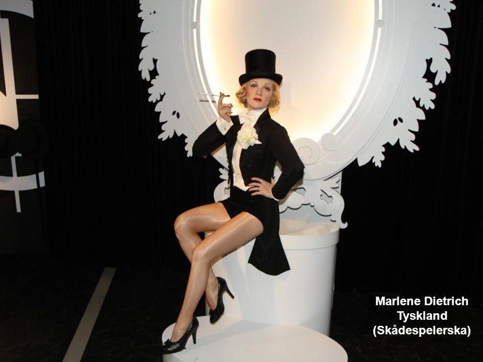 Marlene Dietrich Tyskland (Skådespelerska)