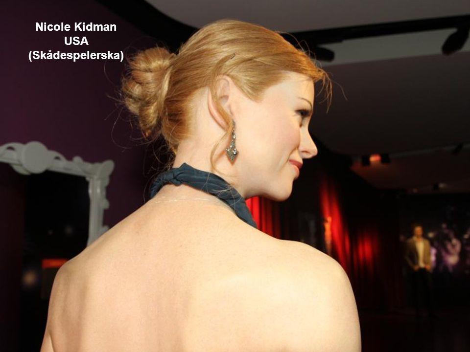 Nicole Kidman USA (Skådespelerska)