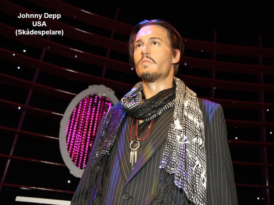 Johnny Depp USA (Skådespelare)