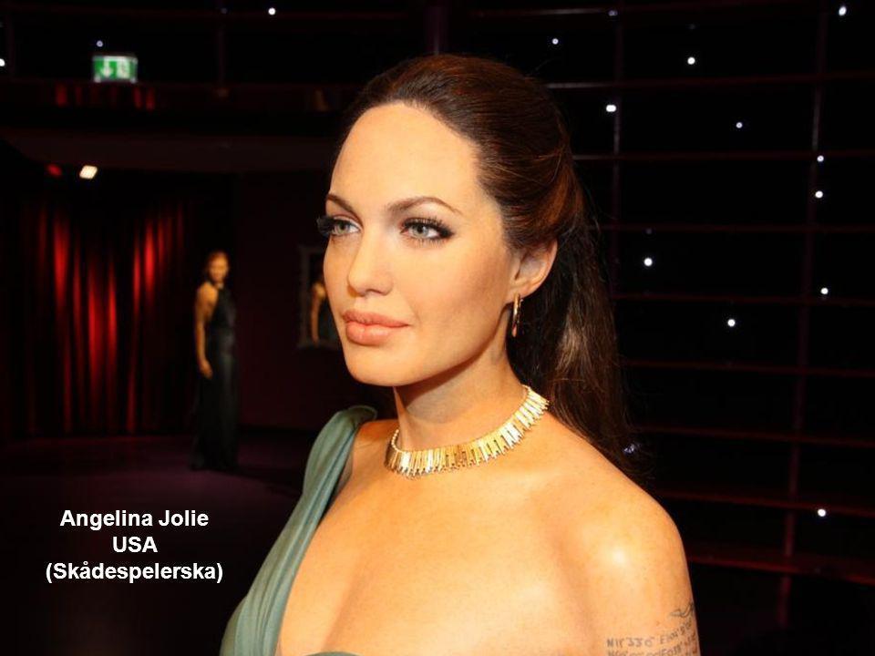 Angelina Jolie USA (Skådespelerska)