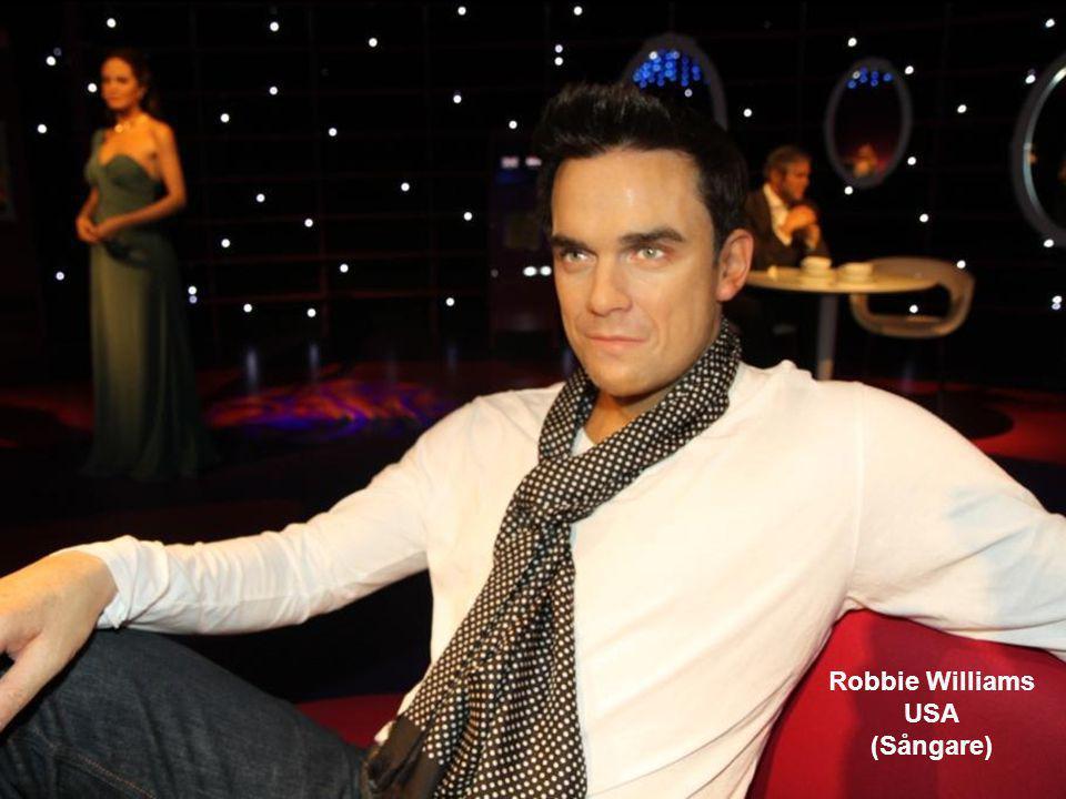 Robbie Williams USA (Sångare)
