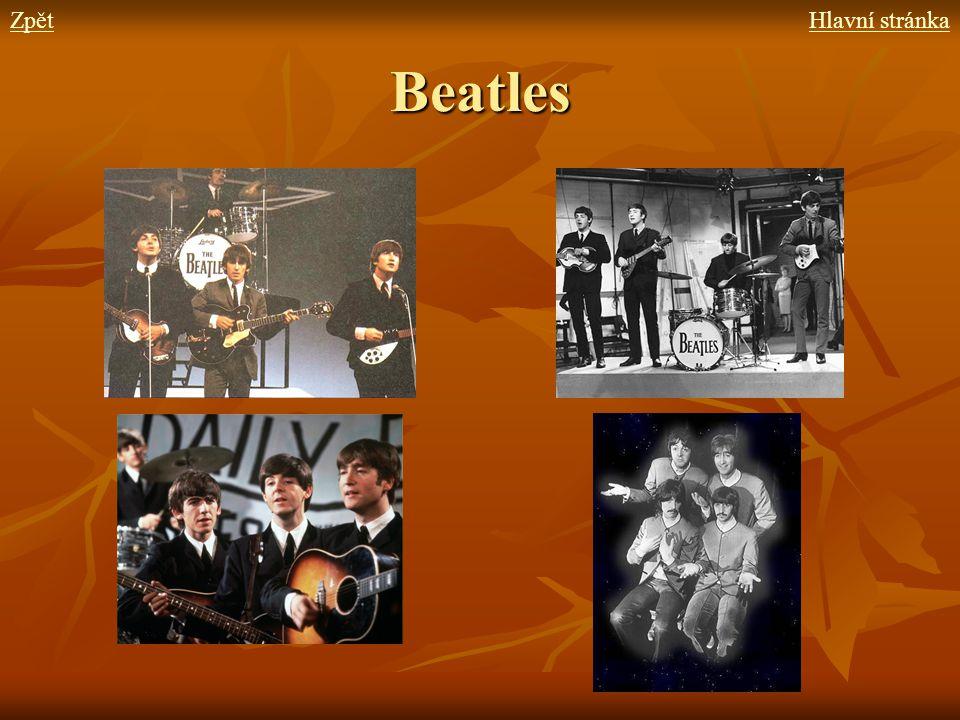 Beatles ZpětHlavní stránka