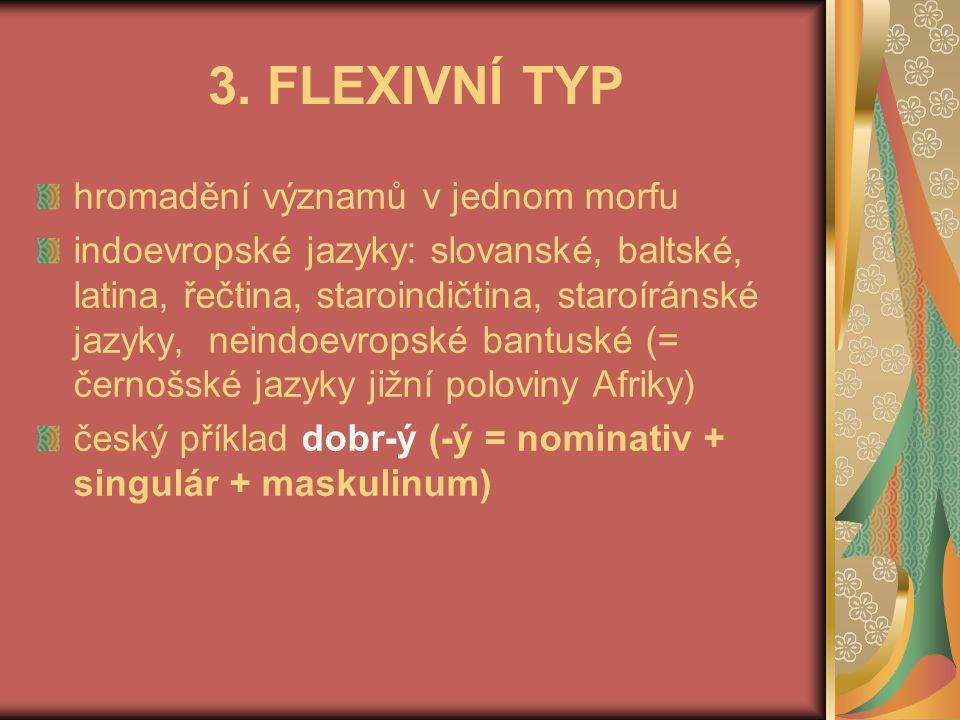 Substantiva pádové koncovky, mající i význam čísla (lat.