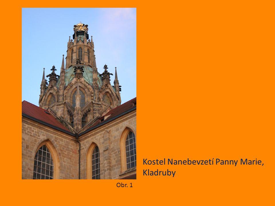 Kostel Nanebevzetí Panny Marie, Kladruby Obr. 1