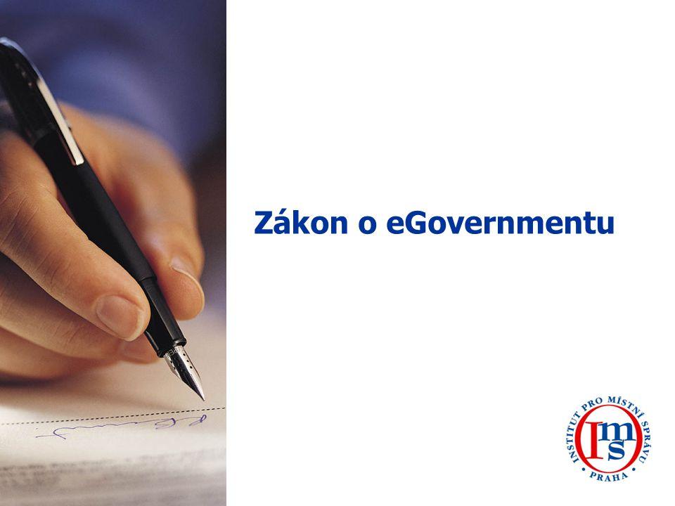 22 Základní pojmy, které musíme pro správné uchopení zákona o eGovernmentu znát Fyzická osoba je jedním ze dvou typů právních subjektů.