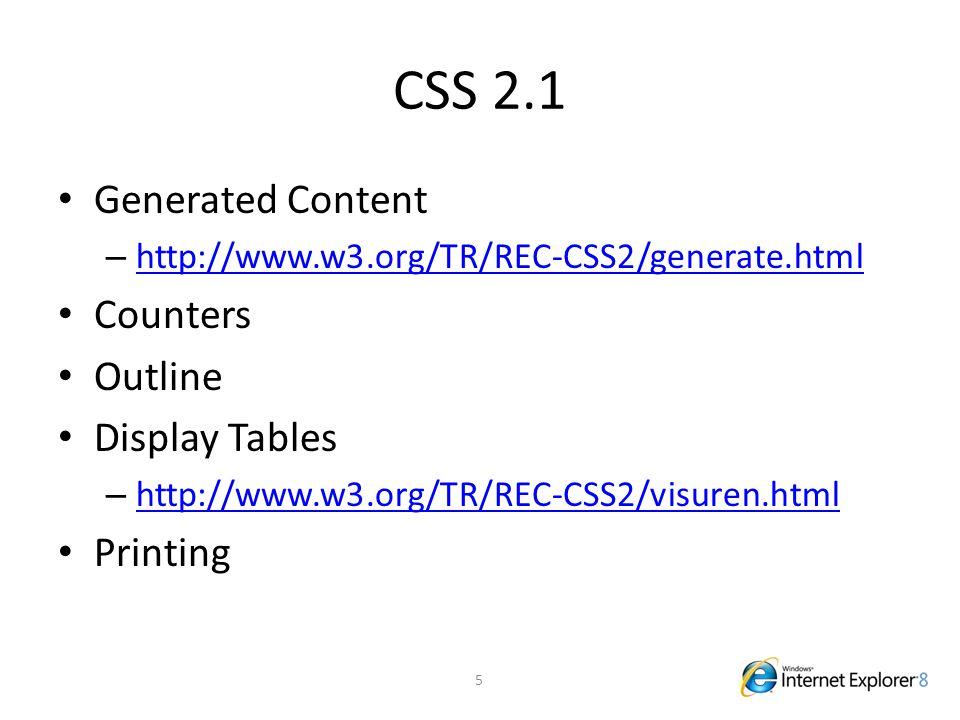 "CSS 3.0 Vertical Text Vendor Extensions – -ms-* – Implementace ""draft vlastností CSS 3.0 – http://blogs.msdn.com/ie/archive/2008/09/08/mi crosoft-css-vendor-extensions.aspx http://blogs.msdn.com/ie/archive/2008/09/08/mi crosoft-css-vendor-extensions.aspx 6"