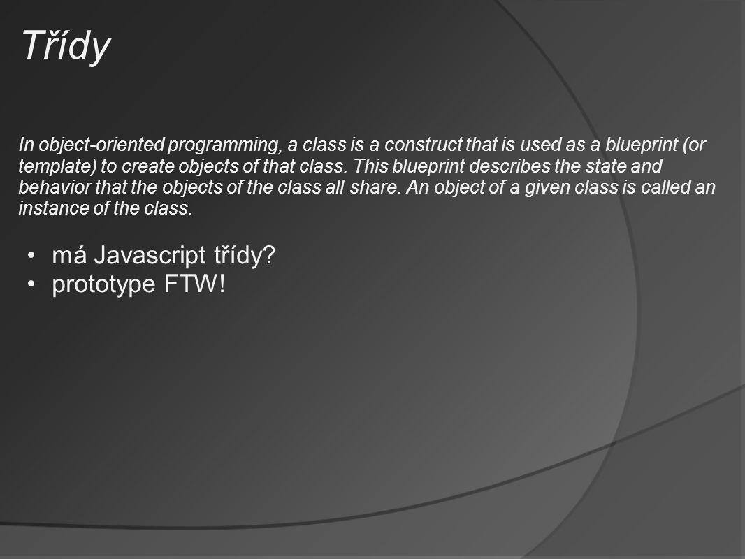 Co nabízí JS frameworky.