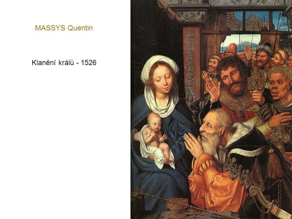 MABUSE Portrét obchodníka - 1530
