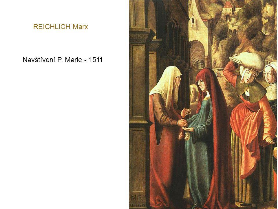 BELLEGAMBE Jean Trůnící Panna Marie s muzicírujícími anděly - oltář 1509