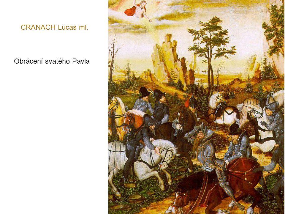 CRANACH Lucas st. Odpočinek na cestě do Egypta - 1504