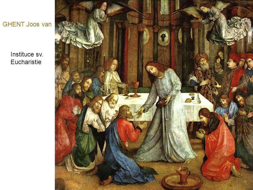 GOES Hugo van der Oltář pro Pontinariho (střední panel)