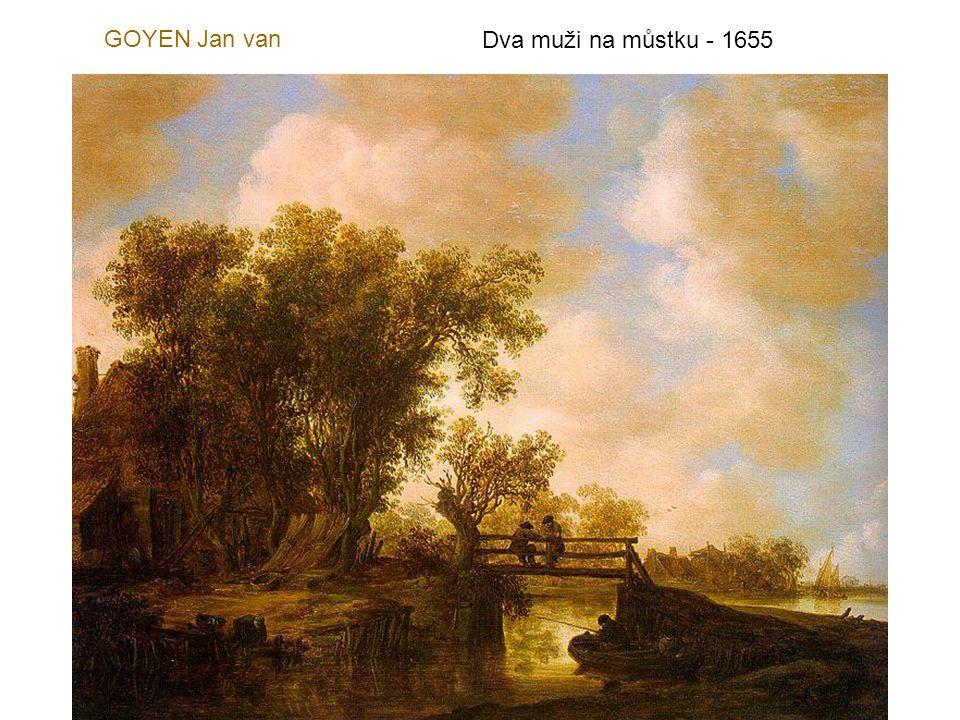 GOYEN Jan van Krajina s řekou - 1625