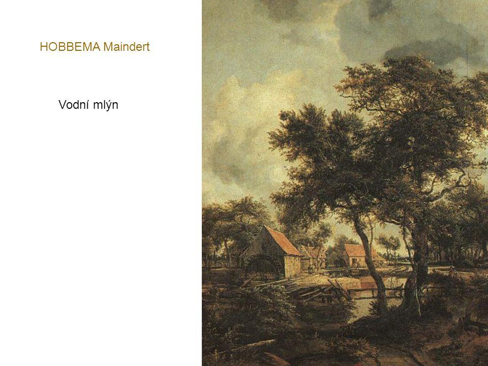 GOYEN Jan van Kostel a farma na břehu řeky - 1653