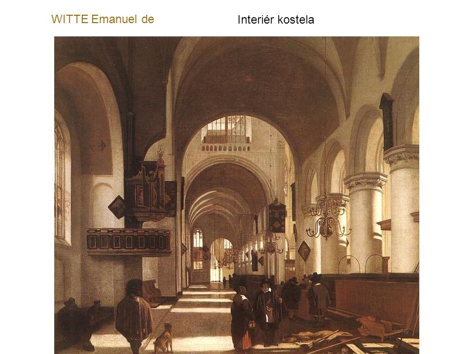 SAENREDAM Pieter Janszoon Stará radnice v Amsterodamu