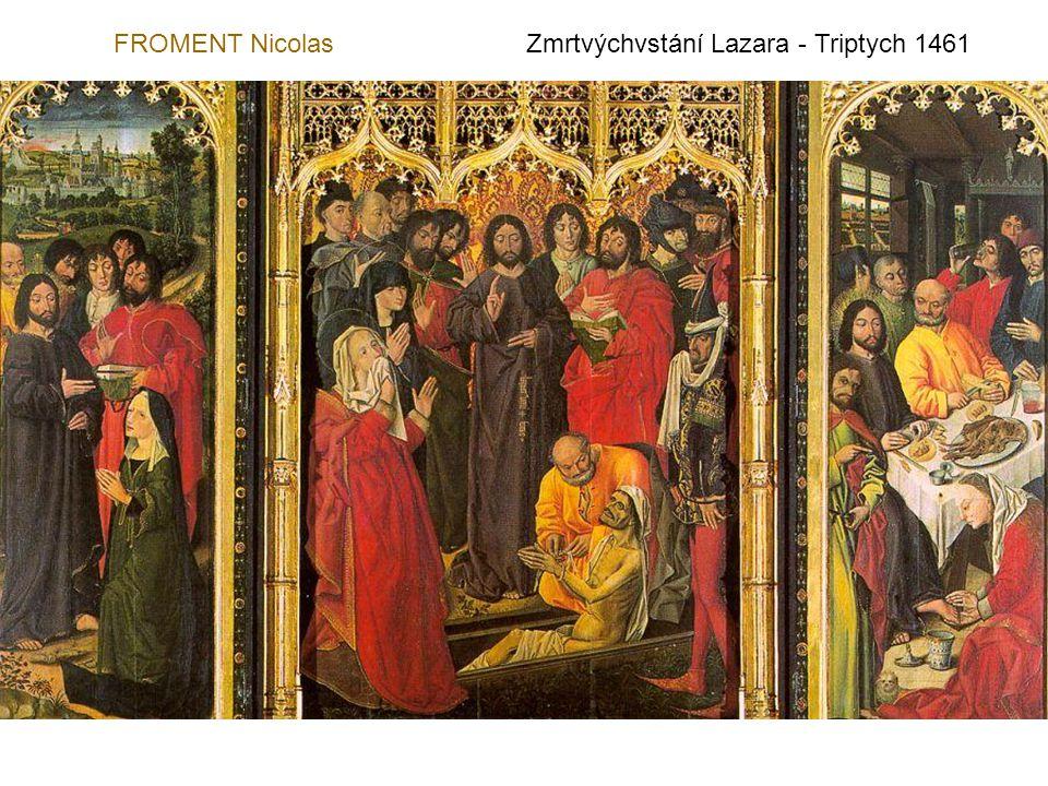 DIPRE NicolasVstoupení Panny do chrámu - 1500