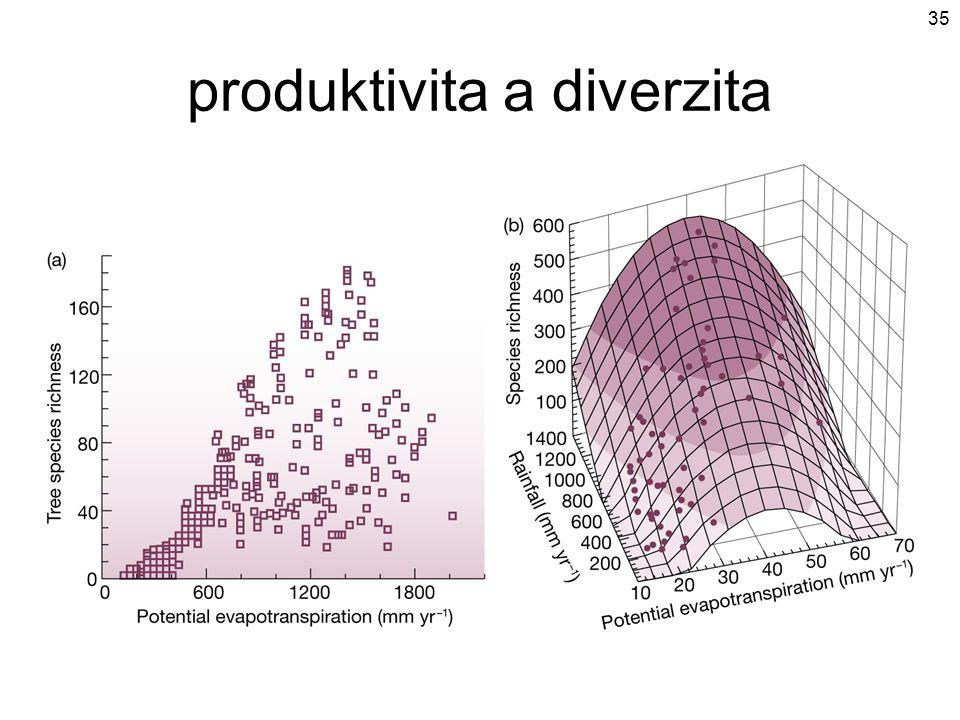 produktivita a diverzita 35