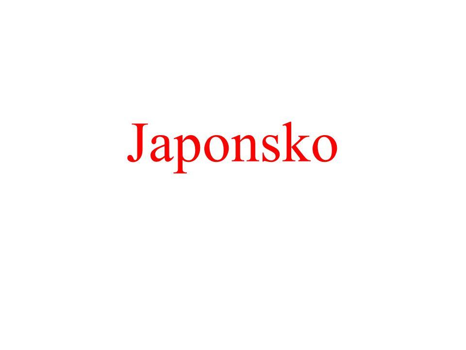 """Hospodářství: """"japonský ekonomický zázrak Obnova započala krátce po druhé sv."""