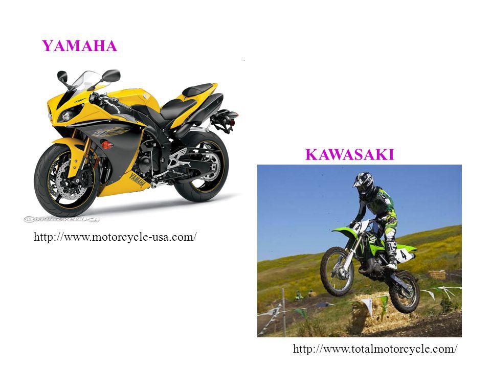 YAMAHA KAWASAKI http://www.motorcycle-usa.com/ http://www.totalmotorcycle.com/