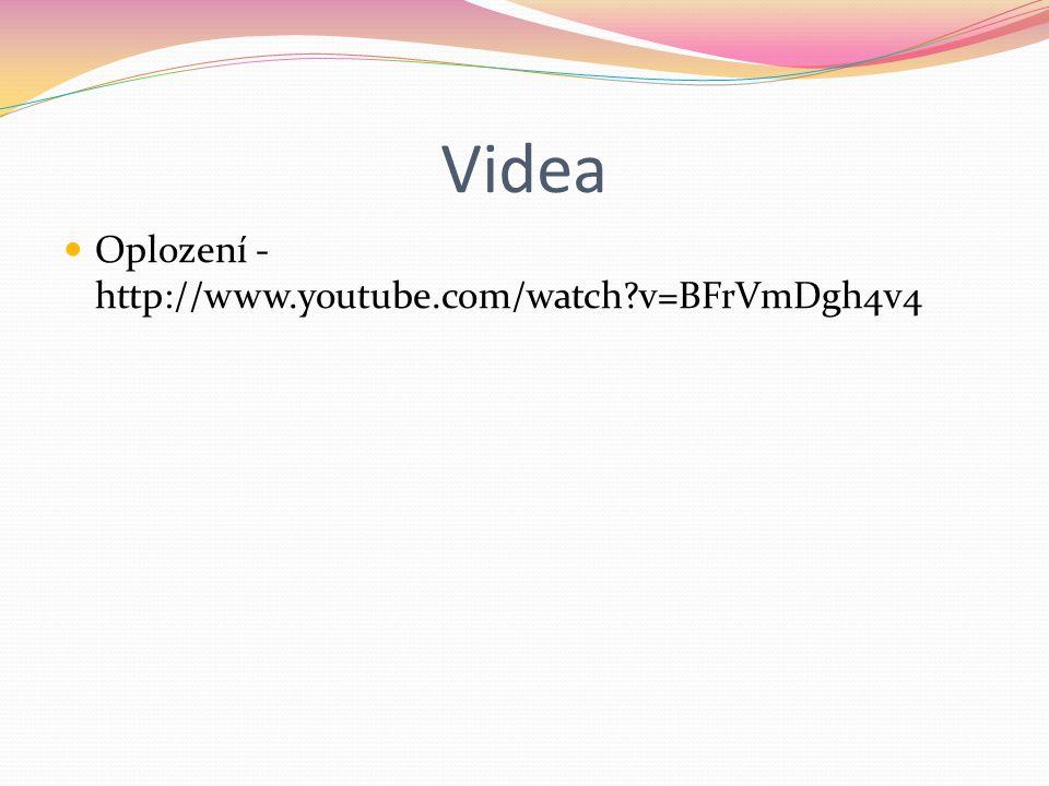 Videa Oplození - http://www.youtube.com/watch?v=BFrVmDgh4v4