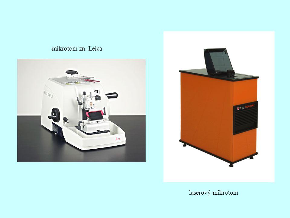 laserový mikrotom mikrotom zn. Leica