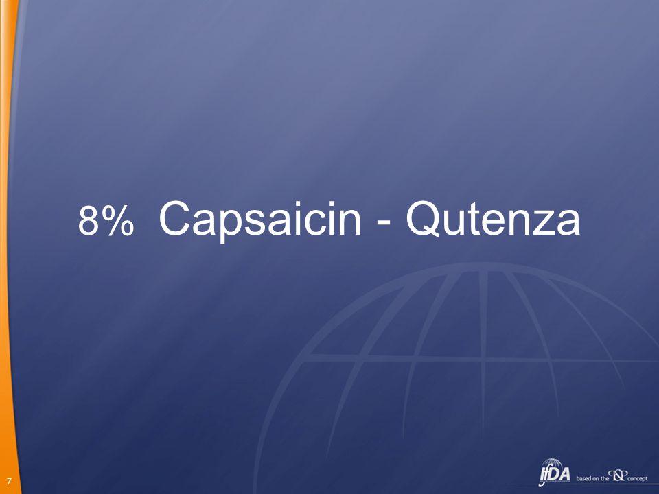 7 8% Capsaicin - Qutenza