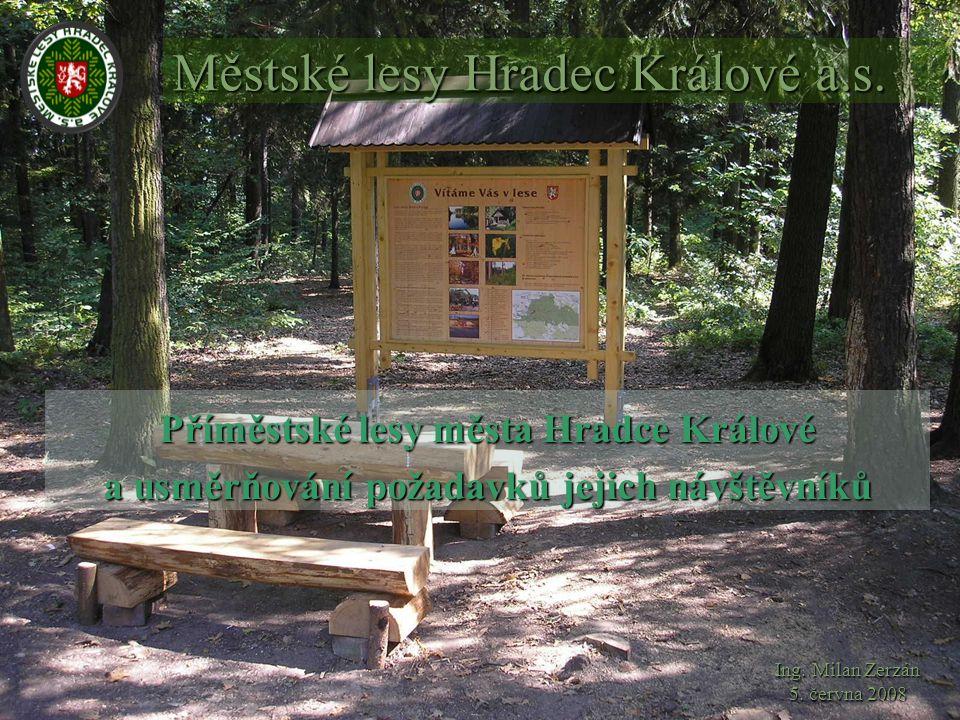 Město Hradec Králové získalo lesy již v roce 1307 jako dar od římského krále Albrechta.