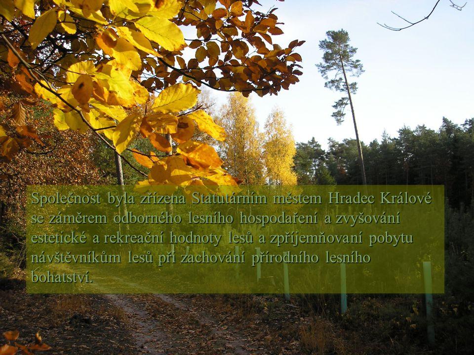 Společnost byla zřízena Statutárním městem Hradec Králové se záměrem odborného lesního hospodaření a zvyšování estetické a rekreační hodnoty lesů a zpříjemňovaní pobytu návštěvníkům lesů při zachování přírodního lesního bohatství.