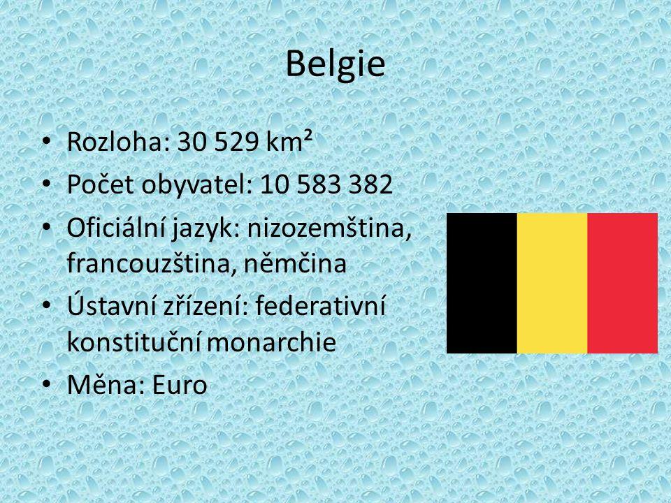 Francie Rozloha: 547 030 km² Počet obyvatel: 62 880 529 Oficiální jazyk: francouzština Ústavní zřízení: poloprezidentská republika Měna: Euro