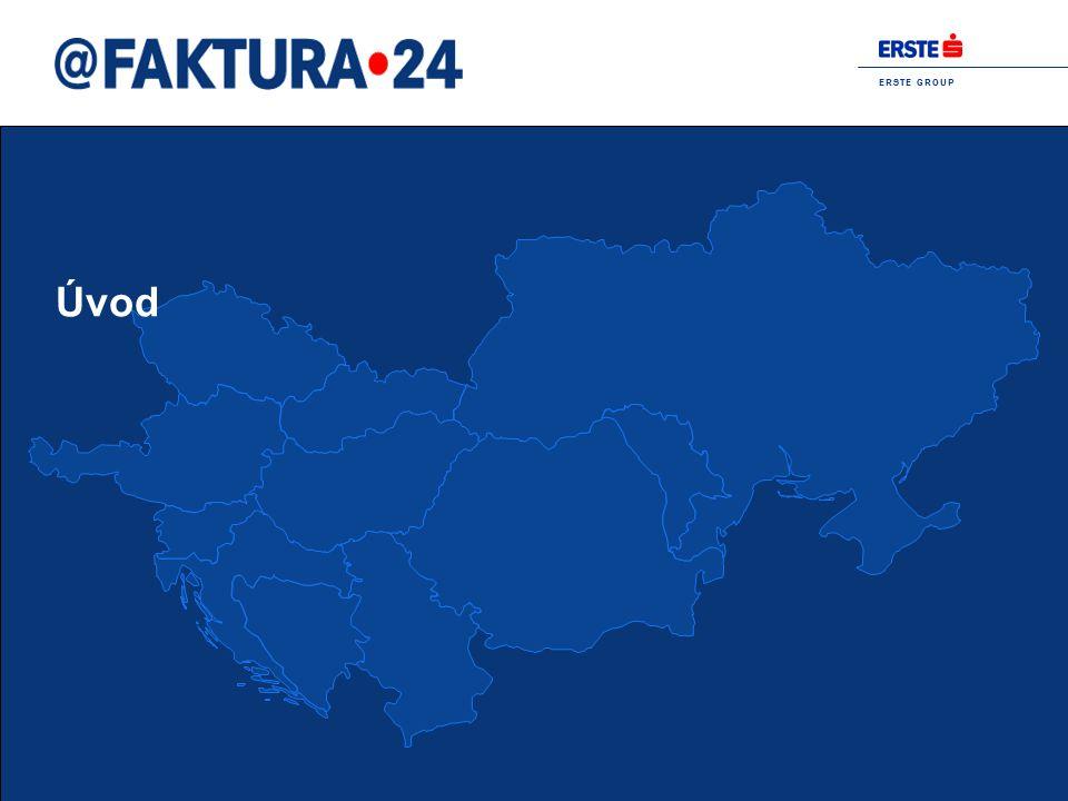 E R S T E G R O U P Proud to be Erste 4 Případové studie zavádění e-fakturace ve veřejném sektoru Dánsko:  Od 1.2.2005 mají dodavatelé zákonnou povinnost posílat své faktury do sektoru veřejné správy výhradně v elektronické podobě Švédsko:  Od 1.7.2009 bude veřejný sektor zasílat a přijímat faktury pouze v elektronické podobě Finsko:  Během jara 2008 některé státní instituce budou zasílat svým zákazníkům faktury v elektronické podobě  Finská vláda hodlá přijmout stejné opatření jako švédská vláda a během roku 2009 bude veřejný sektor přijímat faktury pouze elektronicky