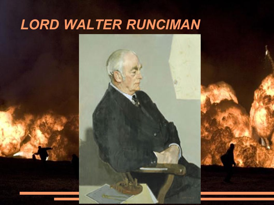 LORD WALTER RUNCIMAN