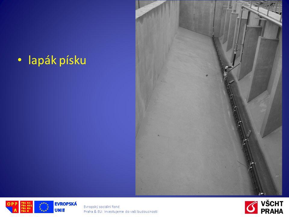 Evropský sociální fond Praha & EU: Investujeme do vaší budoucnosti lapák písku