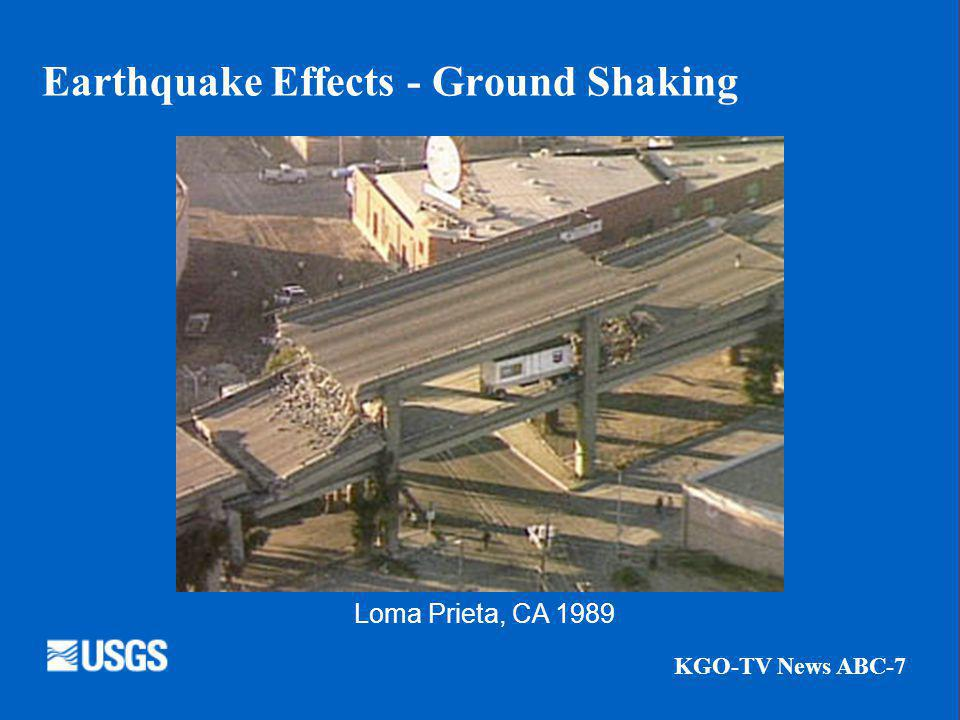 Earthquake Effects - Ground Shaking KGO-TV News ABC-7 Loma Prieta, CA 1989