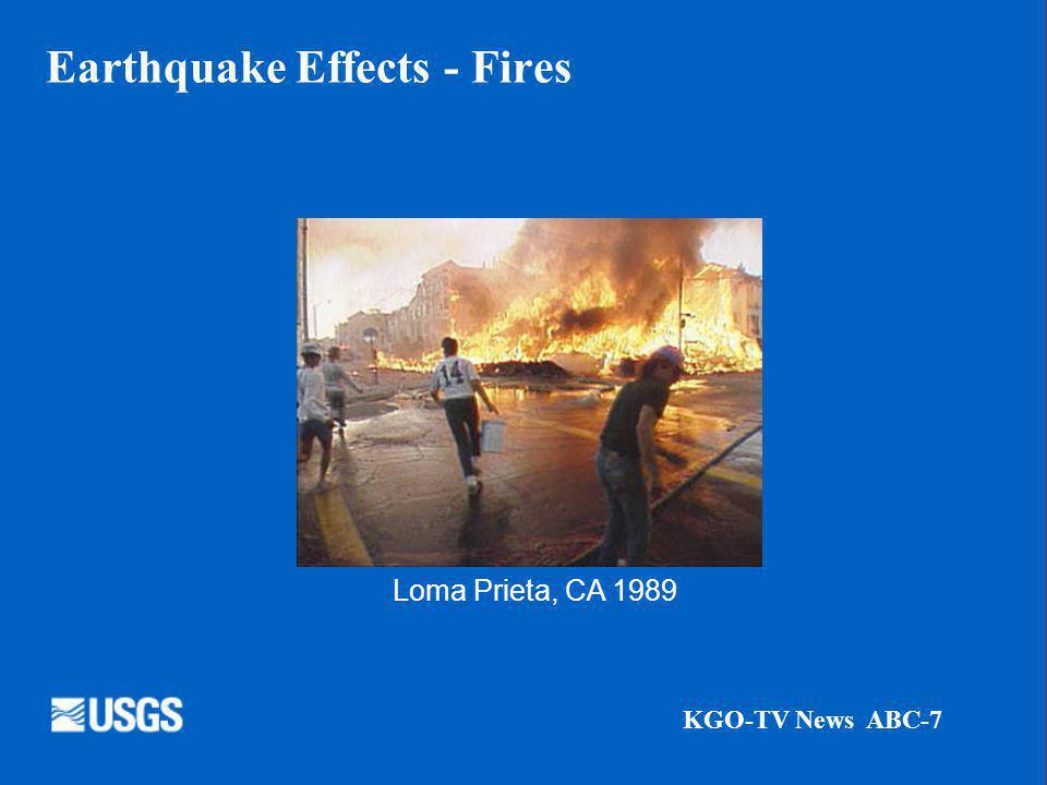 Earthquake Effects - Tsunamis Photograph Credit: Henry Helbush.