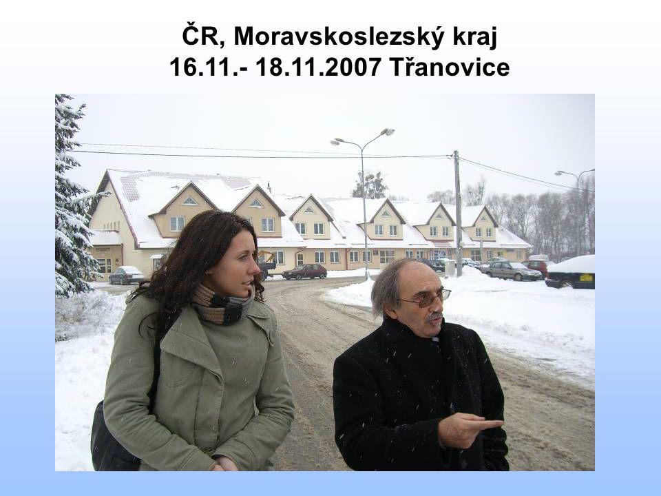 ČR, Moravskoslezský kraj 16.11.- 18.11.2007 Třanovice