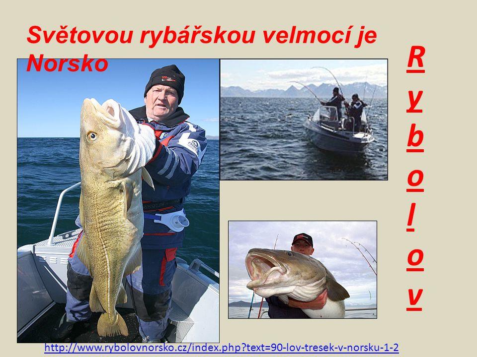 RybolovRybolov http://www.rybolovnorsko.cz/index.php?text=90-lov-tresek-v-norsku-1-2 Světovou rybářskou velmocí je Norsko