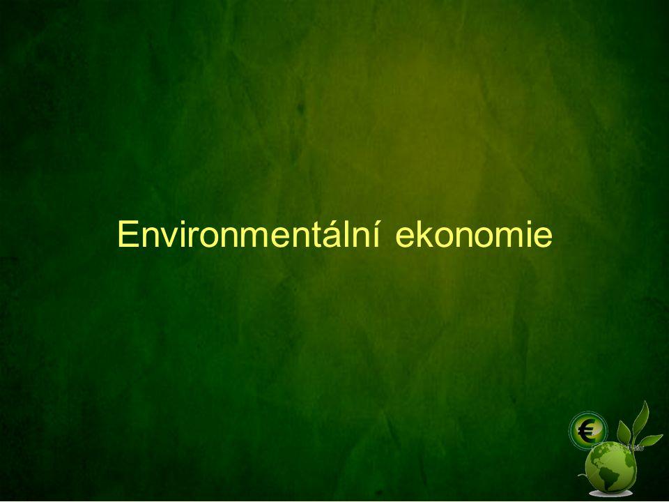 Environmentální ekonomie