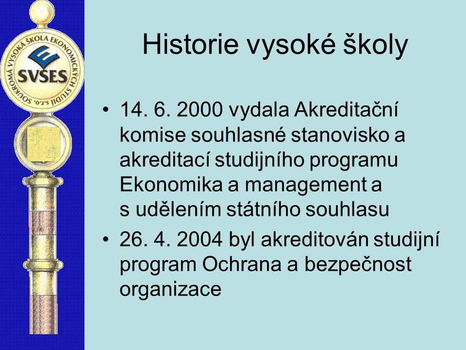 Historie vysoké školy 14.6.