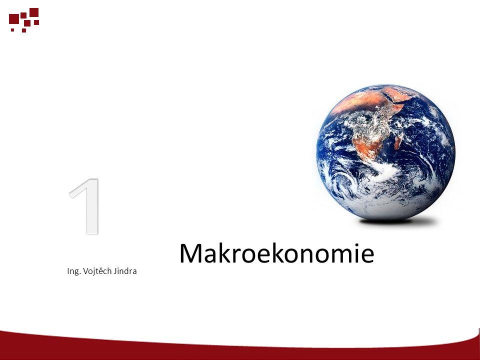 Makroekonomie Ing. Vojtěch Jindra
