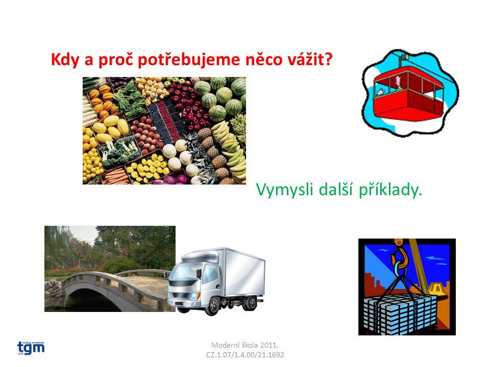 Moderní škola 2011, CZ.1.07/1.4.00/21.1692 KILOGRAMY: Kolik vážíš kilogramů.