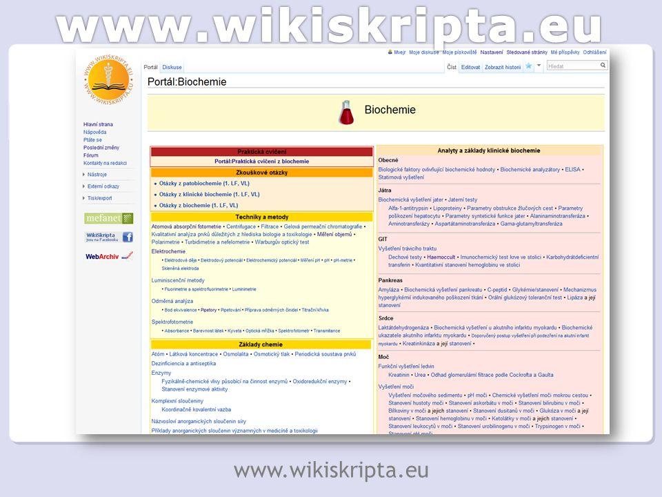 Na WikiSkriptech pracuji opravdu rád (…) Díky WikiSkriptům jsem se naučil mnohem, mnohem lépe písemně i verbálně komunikovat.