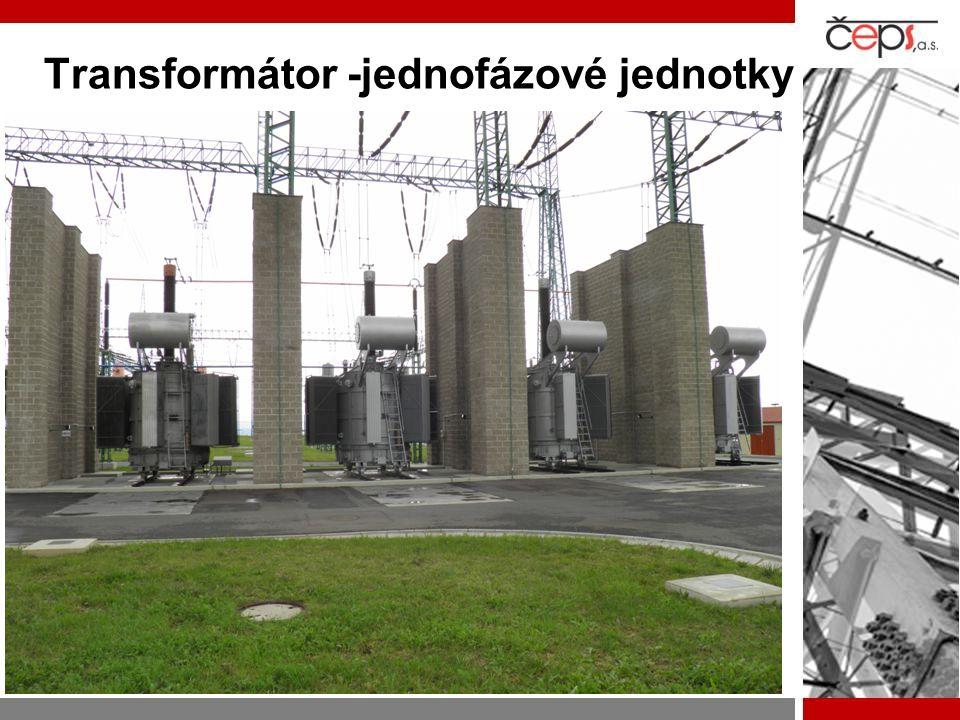 Transformátor -jednofázové jednotky