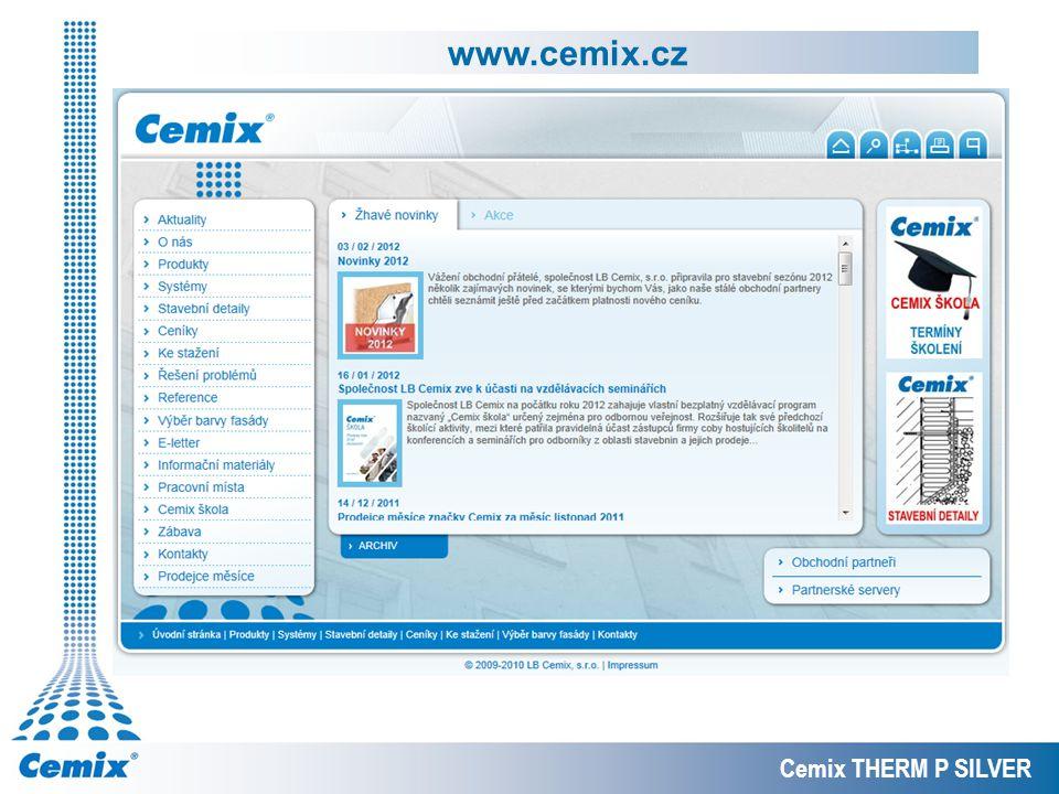 www.cemix.cz Cemix THERM P SILVER