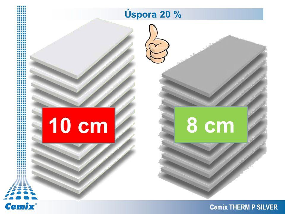 Cemix THERM P SILVER 10 cm 8 cm