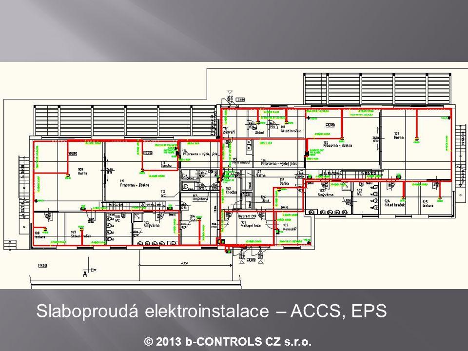 © 2013 b-CONTROLS CZ s.r.o. Příklad schématu zapojení analogových výstupů - MaR