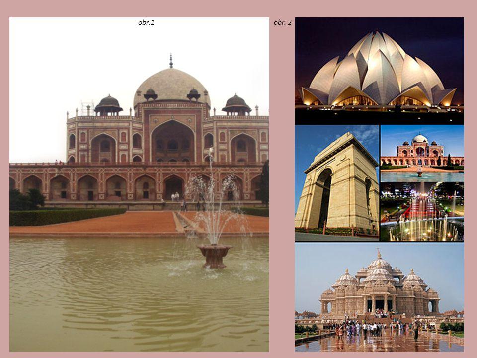 Významné turistické cíle Indie Ágra (UNESCO) Červená pevnost ze 17.